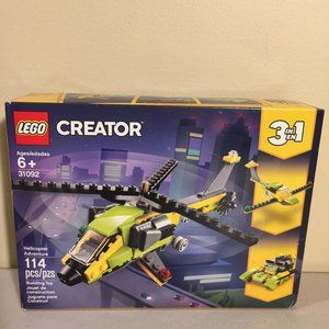 LEGO Creator 3-in-1 Helicopter Adventure 31092